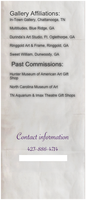 Gallery Affiliations: